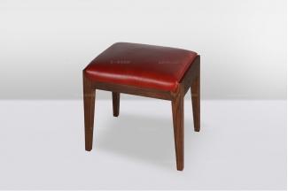 高端品牌简欧好实木妆凳