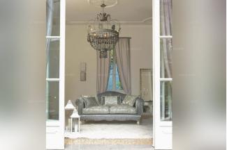 Pigoli 皮沟里高端灰色布艺沙发客厅系列