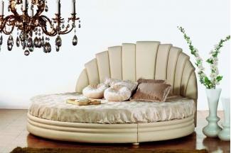 Pigoli 皮沟里简约圆形卧室软床系列