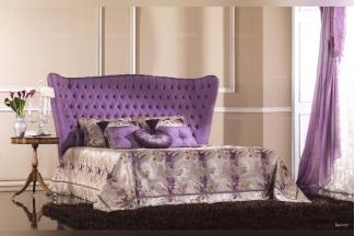 Pigoli 皮沟里蓝色布艺拉扣卧室软床系列