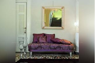 Pigoli 皮沟里简约红色卧室软贵妃沙发系列