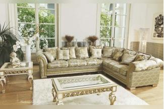 Pigoli 皮沟里花型布艺转角沙发客厅系列