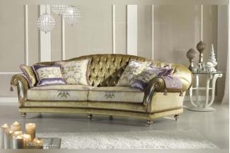 Pigoli 皮沟里素色布艺三位沙发客厅家具