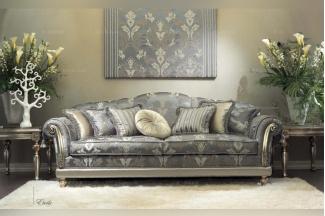 Pigoli 皮沟里花型布艺三位沙发客厅系列