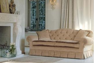 Pigoli 皮沟里素色布艺实木框架三位沙发客厅系列