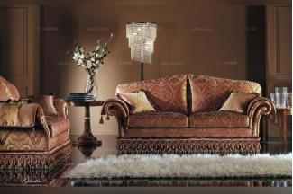 Pigoli 皮沟里花色布艺实木沙发客厅系列