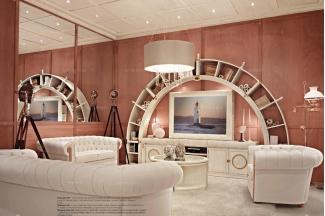 Caroti 卡若缇实木框架白色沙发客厅系列