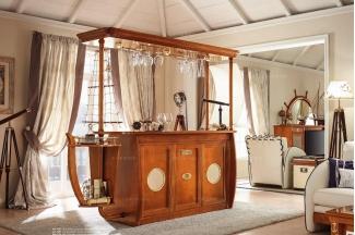 Caroti 卡若缇实木框架露木色吧台系列