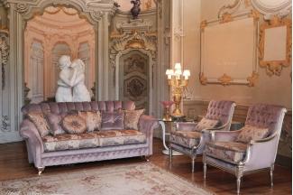 Pigoli 皮沟里素色+花型布艺实木框架沙发客厅系列