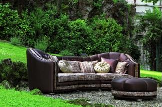 Pigoli 皮沟里红色布艺三位沙发客厅系列