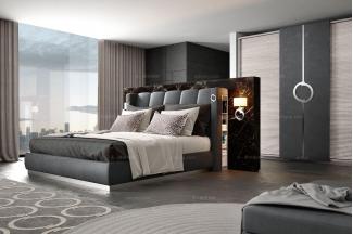 Caroti 卡若缇实木框架咖啡色卧室系列