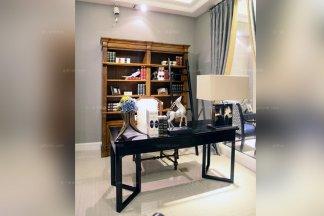 高端品牌美式书房书桌配书椅