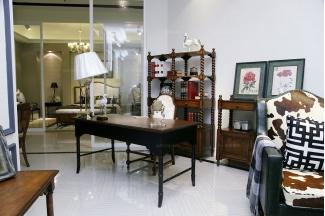 高端品牌美式风格书房组合