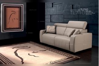 高端时尚意大利进口兰博基尼系列真皮多功能沙发床