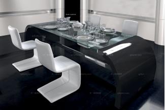 高端时尚现代风格必发88客户端进口兰博基尼系列餐台椅