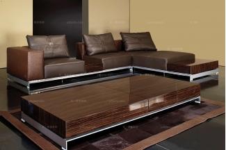 高端时尚现代意大利进口兰博基尼系列转角沙发
