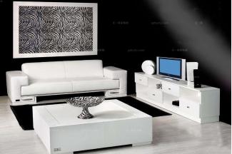 高端时尚现代意大利进口兰博基尼系列客厅组合
