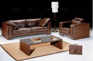 高端品牌现代意大利进口兰博基尼系列棕色沙发