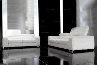 高端时尚现代意大利进口兰博基尼系列白色沙发