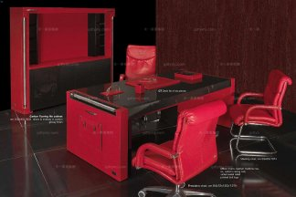 高端品牌现代意大利进口兰博基尼系列书房套组