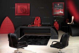 高端时尚现代意大利进口兰博基尼系列案几形书桌