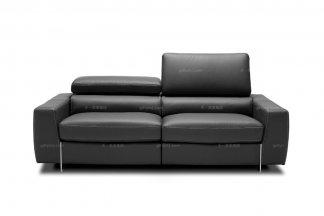 高端品牌现代意大利进口舒适型二人沙发
