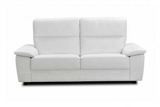 高端时尚现代意大利进口白色休闲二人沙发
