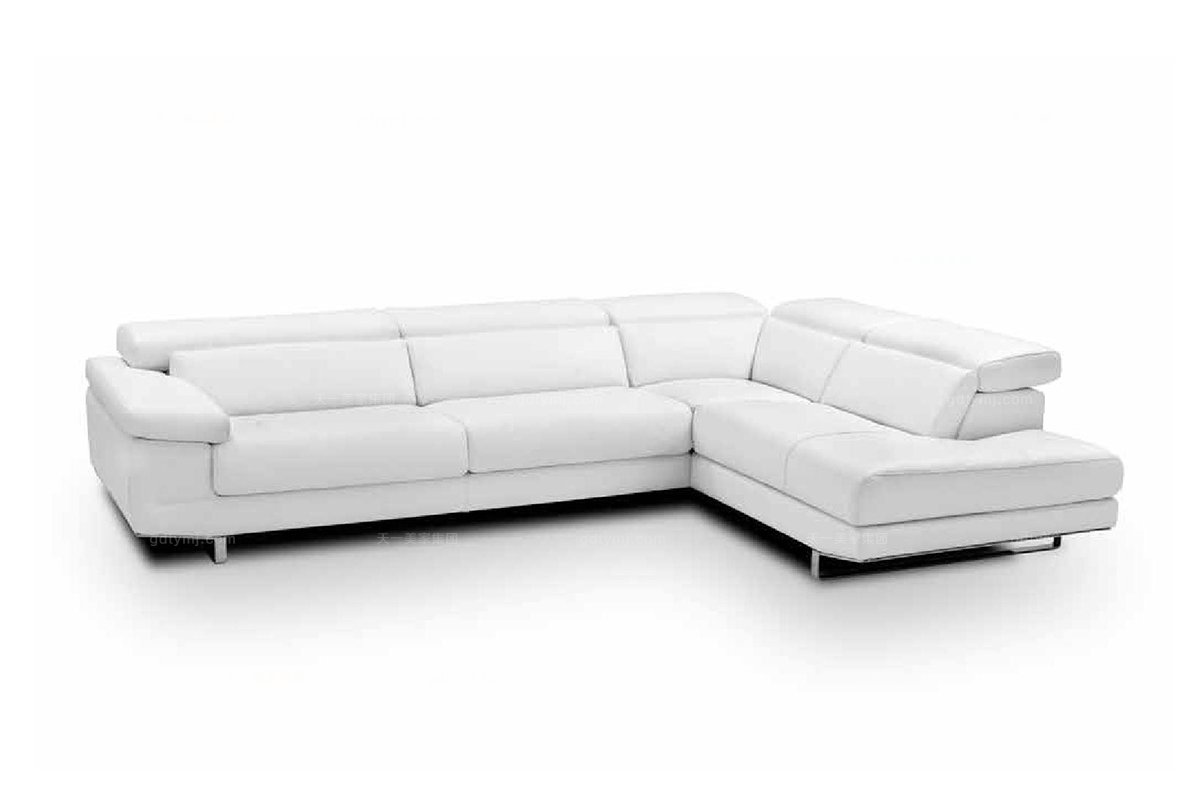 高端品牌现代意大利进口别墅会所转角沙发