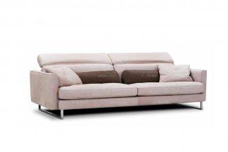 高端时尚现代意大利进口二人布艺沙发