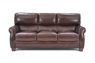 高端品牌现代意大利进口办公真皮三人沙发