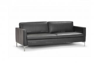 高端品牌现代意大利进口办公三人沙发