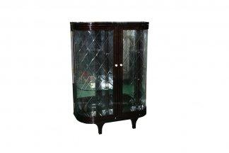 世界万博手机网页品牌奢华新古典黑檀色装饰柜