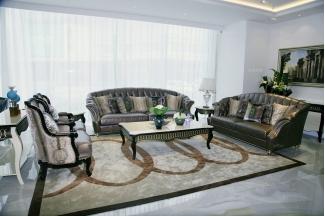 名贵别墅万博手机网页自然主义风客厅沙发系列