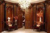 """新古典整体固装,异化的空间效果,只为打造""""家具界的劳斯莱斯""""。"""