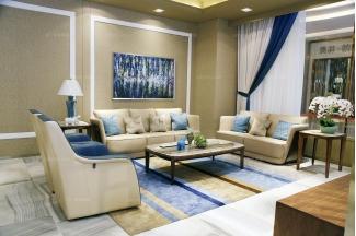 名贵万博手机网页品牌奢华自然主义真皮客厅沙发系列