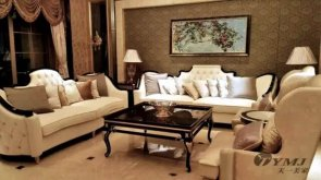 广州星河湾私家别墅-奢华新古典顶级家具