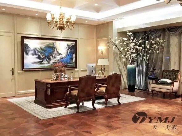 西安华荣魏家餐饮-美式现代整体家具
