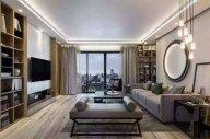 深圳领航城样板房5套-现代整体家具工程案例