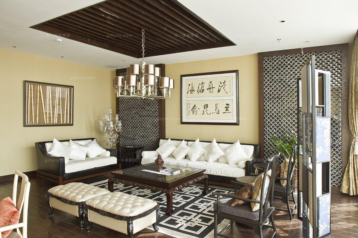 高端红木会所家具品牌天一会客厅红木沙发