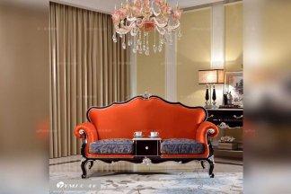 高端别墅万博手机网页品牌法式高端布艺电话椅