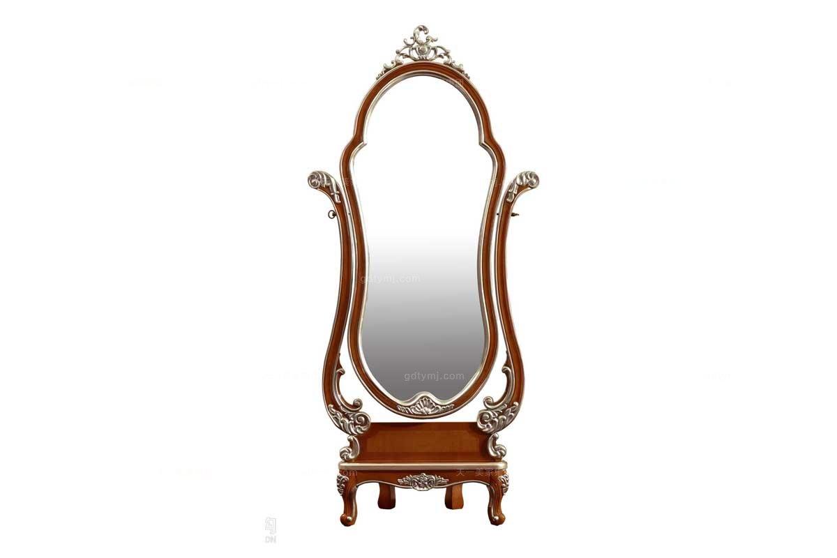 高端别墅品牌万博手机网页法式风格穿衣镜