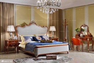 高端五星级酒店万博手机网页品牌法式双人床