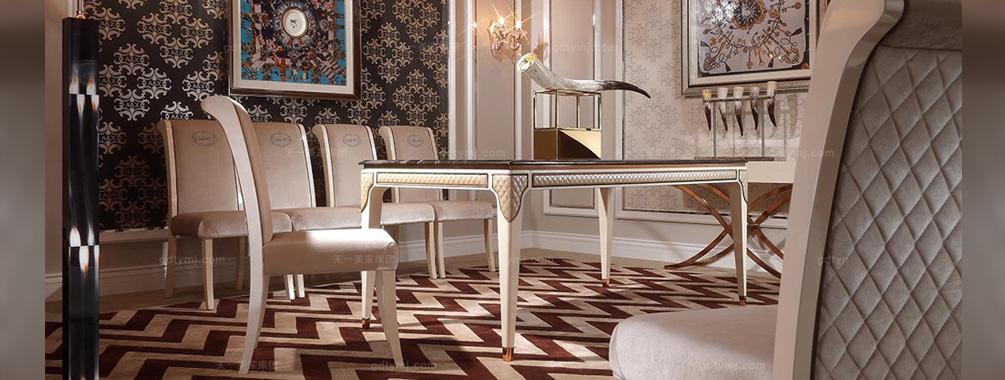 高端时髦家具品牌后现代米红色绒布艺餐椅