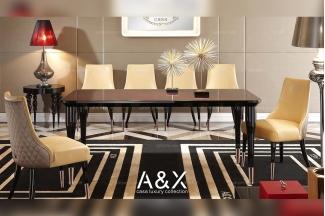 88bf必发娱乐五星级酒店家具品牌奢华餐桌椅系列