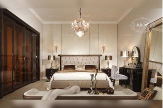 名貴別墅五星級酒店家具臥室家具系列