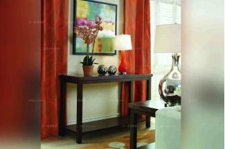 美式高端纯实木家具实木玄关
