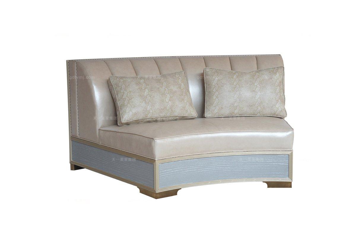 高端样板房家具品牌会所家具法式组合沙发