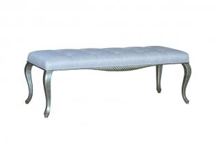 样板房家具品牌高端样板间家具法式床尾凳