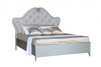 高端家具品牌售楼部家具法式咖啡色双人床
