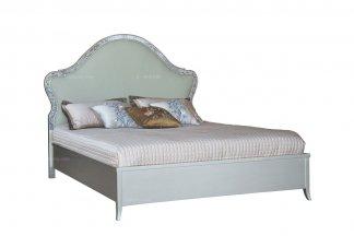高端家具品牌高端家具法式银色双人床